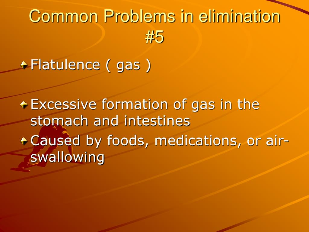 Common Problems in elimination #5