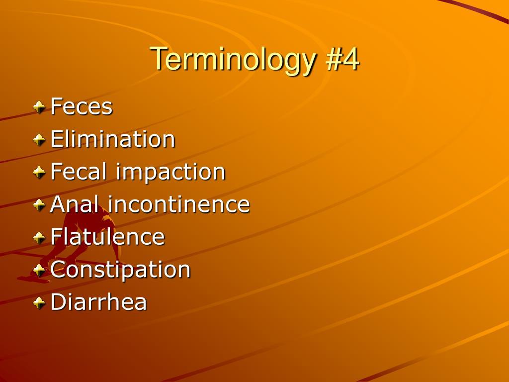 Terminology #4