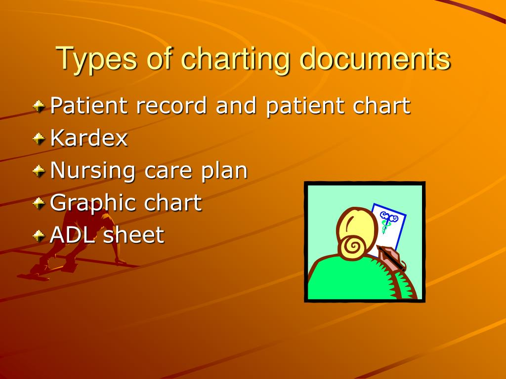 Types of charting documents