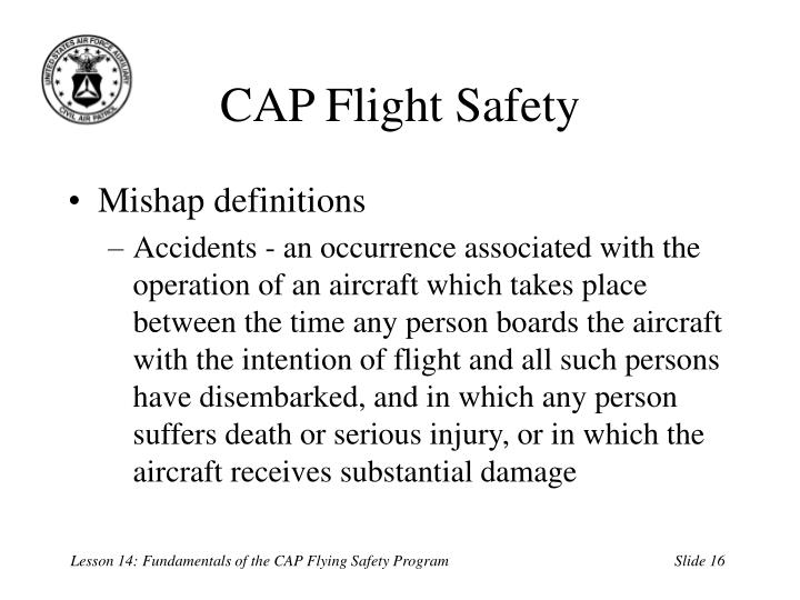 CAP Flight Safety