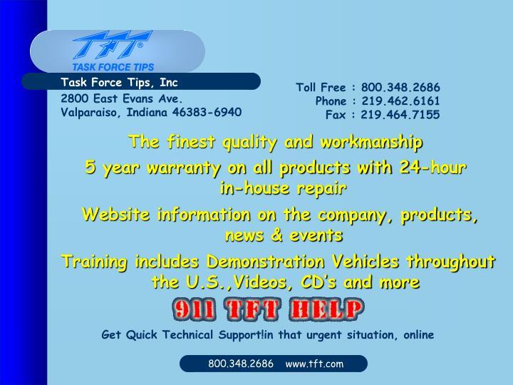 Task Force Tips, Inc