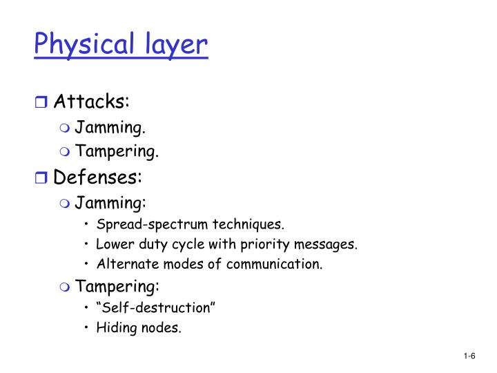 Physical layer