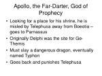 apollo the far darter god of prophecy2