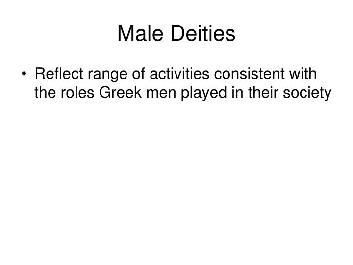 Male deities