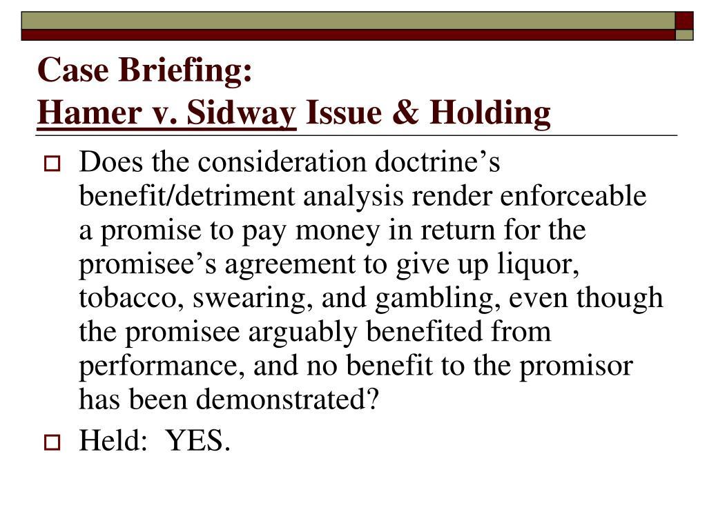 Case Briefing: