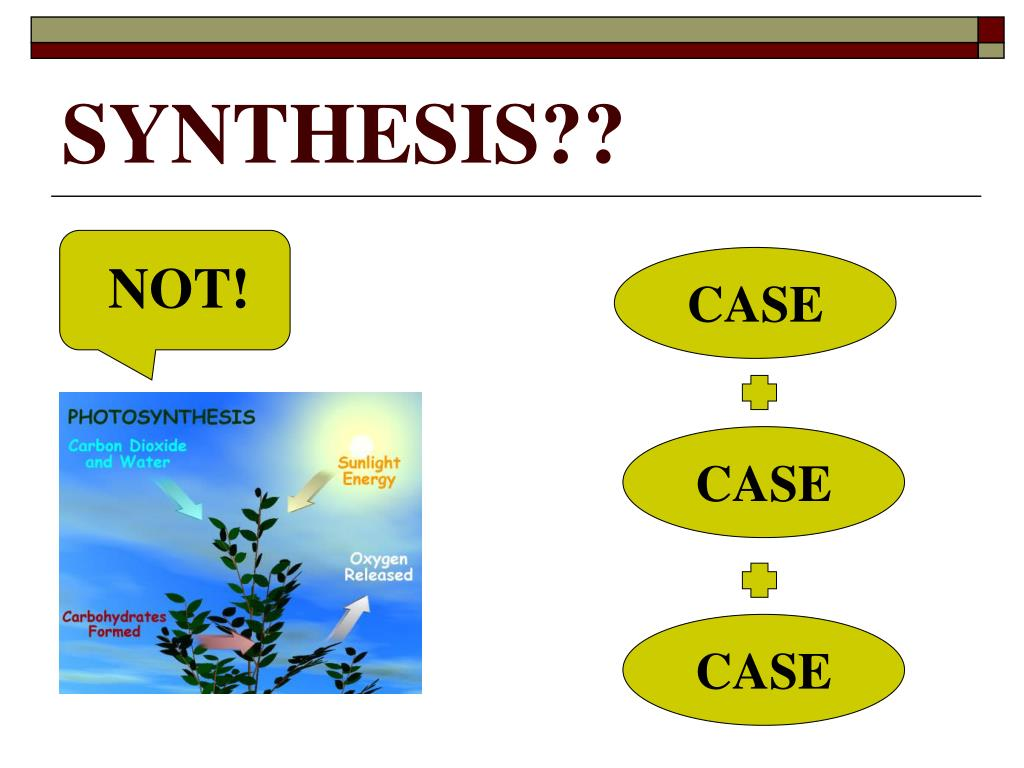 SYNTHESIS??