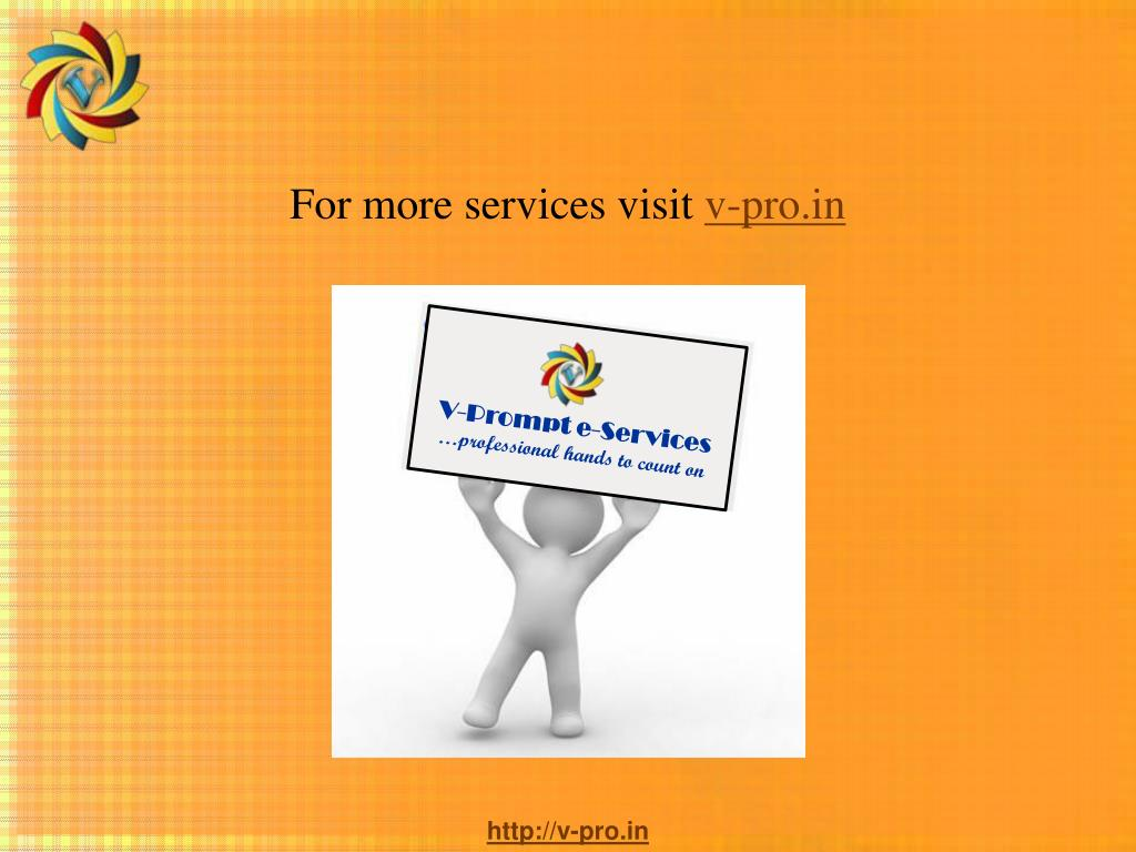 For more services visit