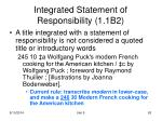 integrated statement of responsibility 1 1b2
