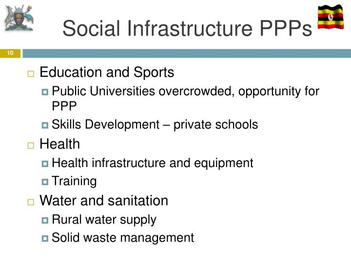Social Infrastructure PPPs