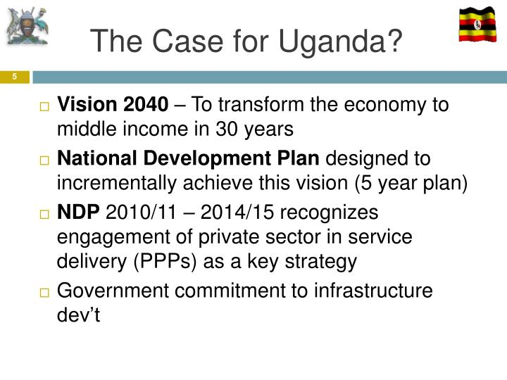 The Case for Uganda?