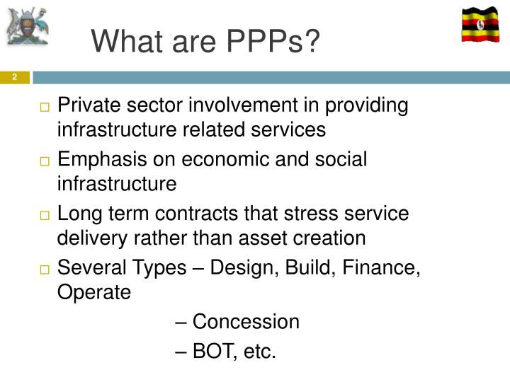 What are PPPs?