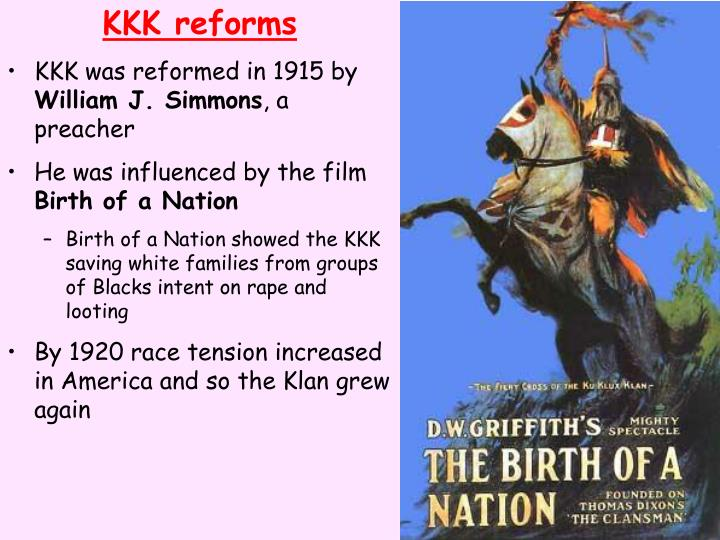 KKK reforms