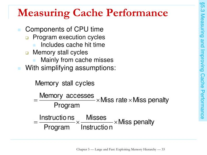 Measuring Cache Performance