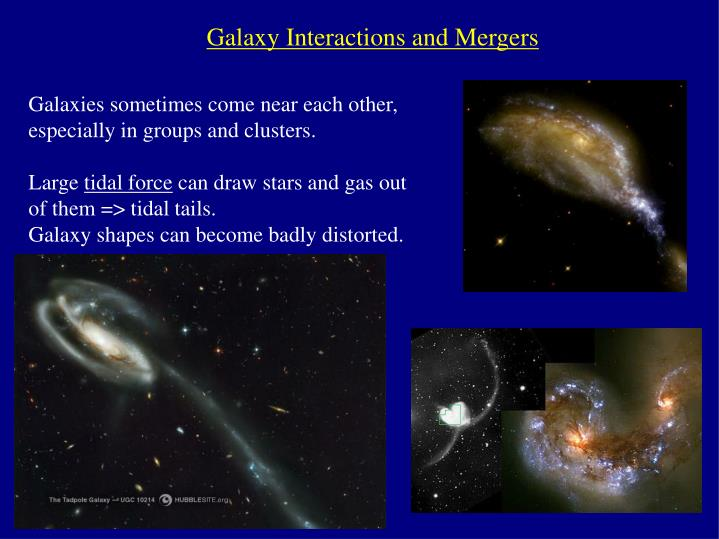 Galaxy Interactions and Mergers