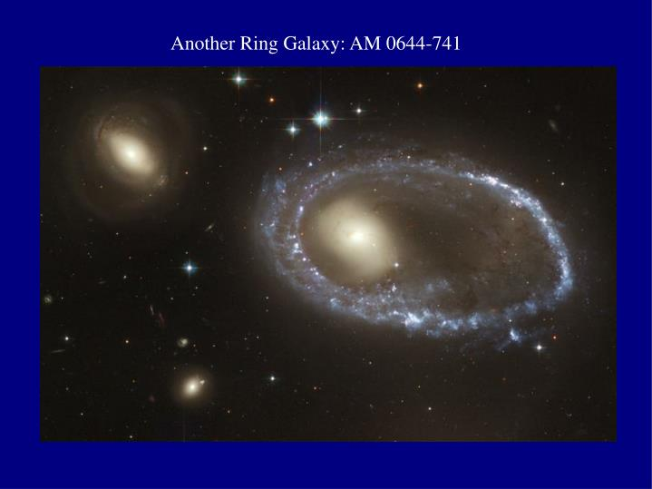 Another Ring Galaxy: AM 0644-741