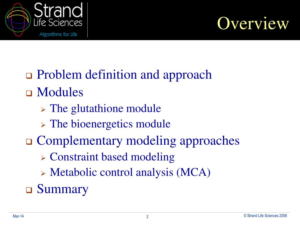 Problem definition and approach