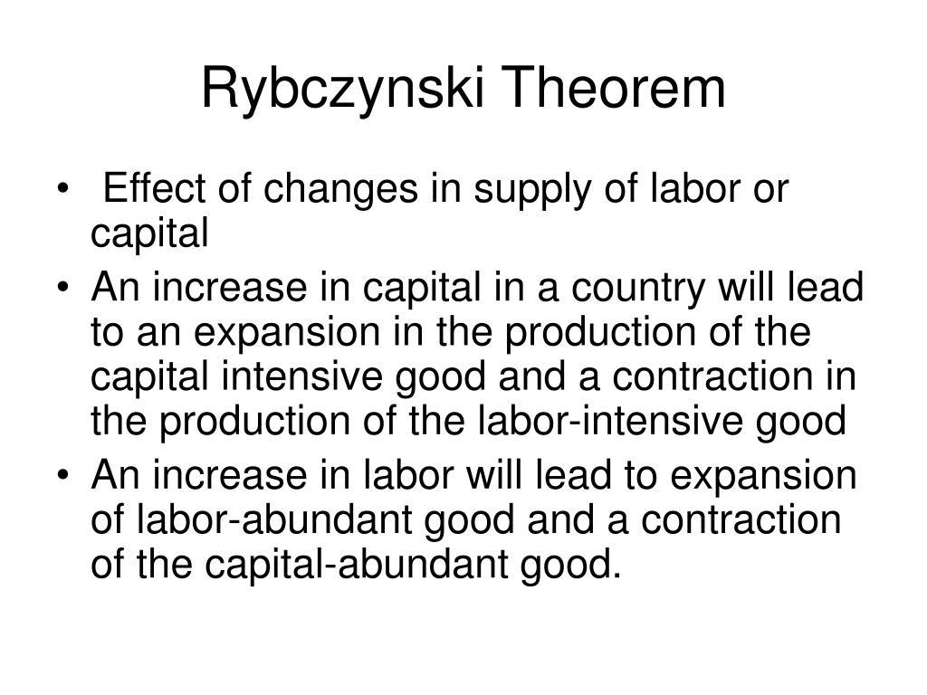 Rybczynski Theorem