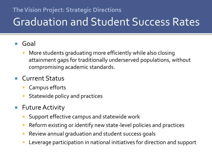 The Vision Project: Strategic Directions