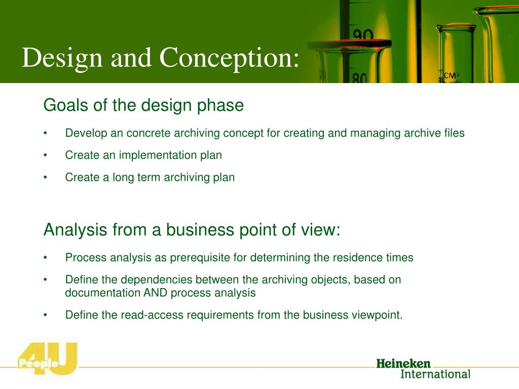 Design and Conception: