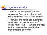 organizationally