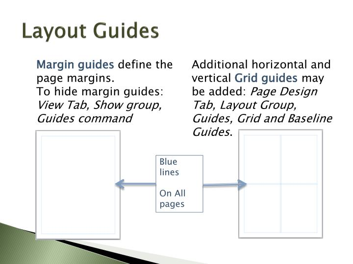 Layout Guides