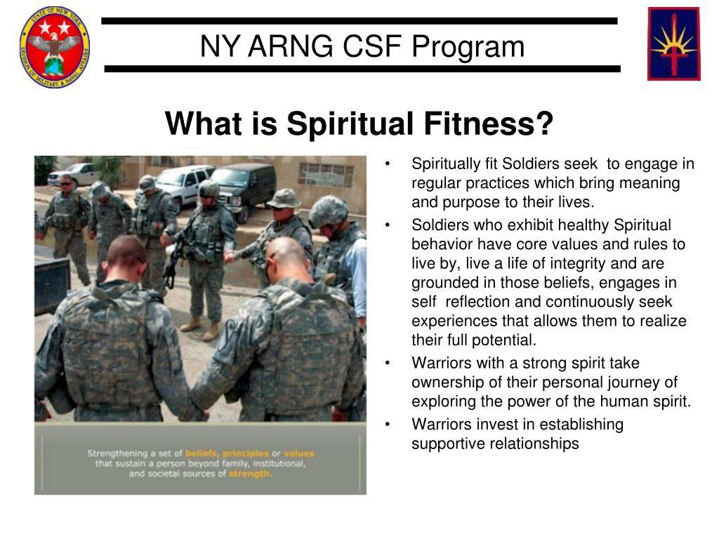 What is Spiritual Fitness?