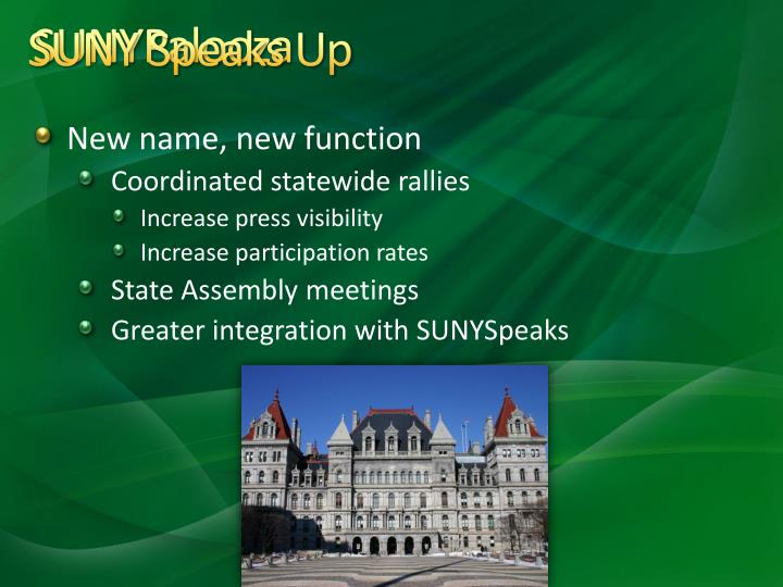 SUNY Speaks Up