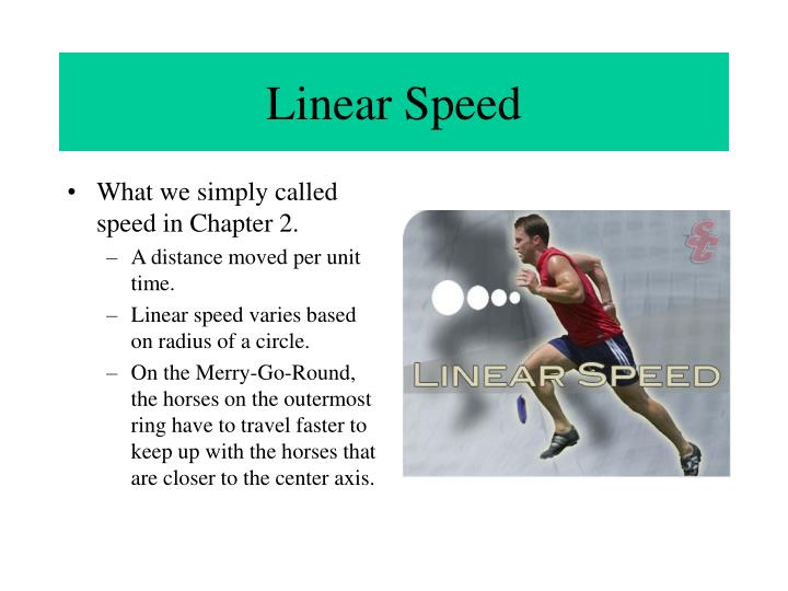 Linear Speed