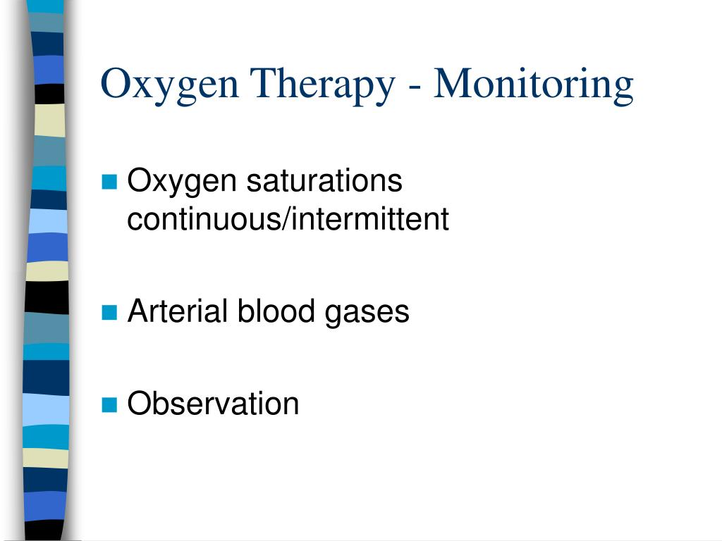 Oxygen Therapy - Monitoring