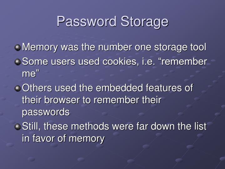 Password Storage