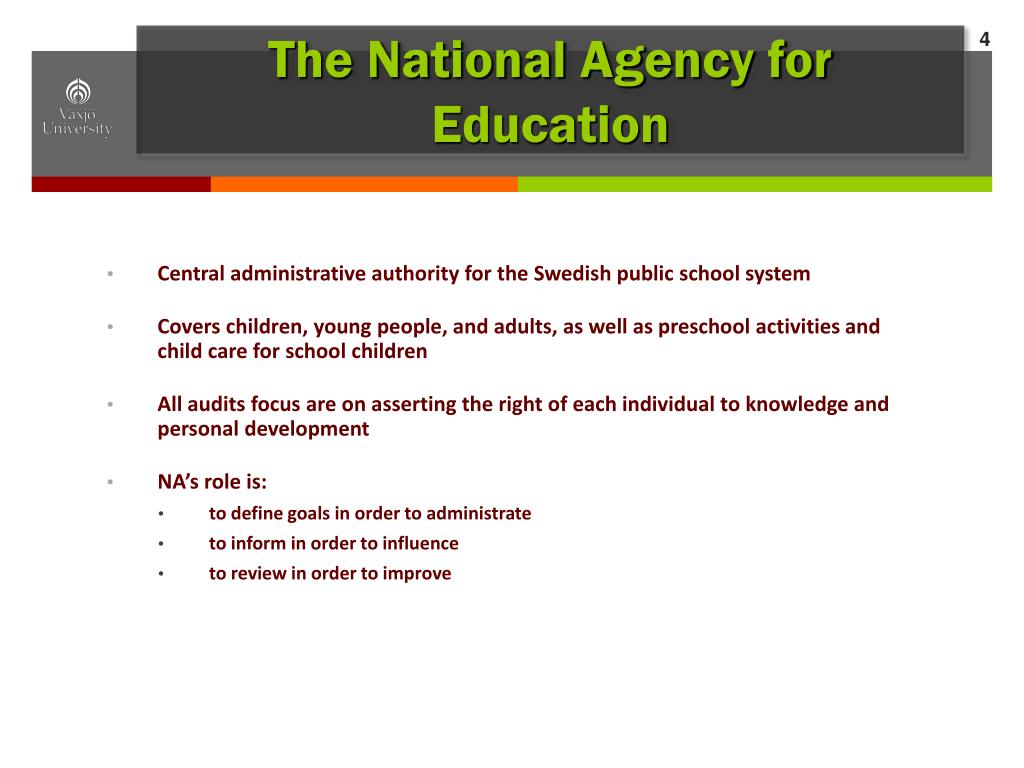 The National Agency for Education