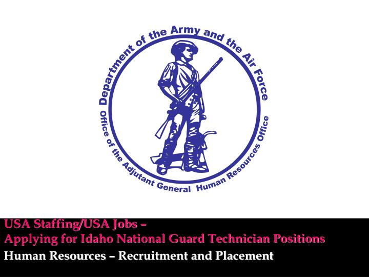 Usa staffing usa jobs applying for idaho national guard technician positions