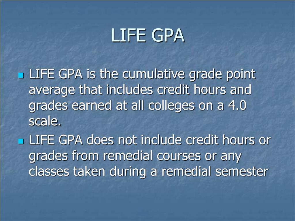 LIFE GPA
