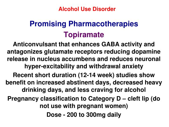 Alcohol Use Disorder