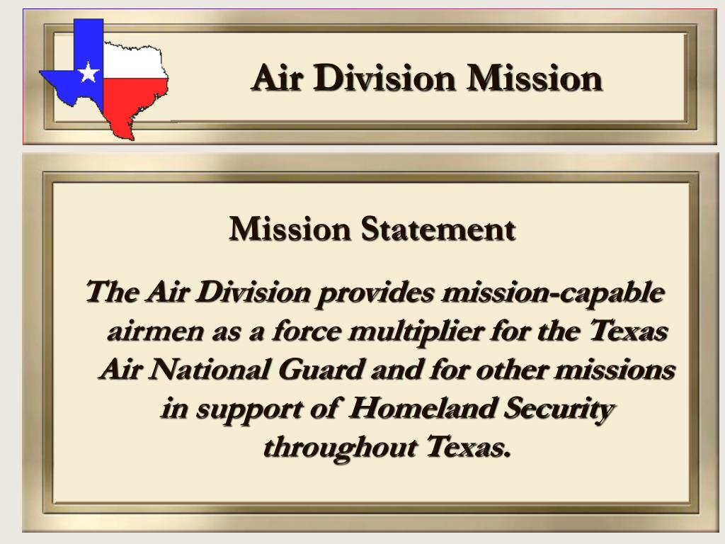 Air Division Mission