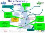the e science centres