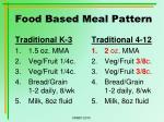 food based meal pattern1