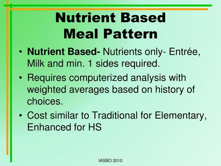 Nutrient Based