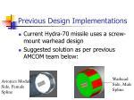 previous design implementations