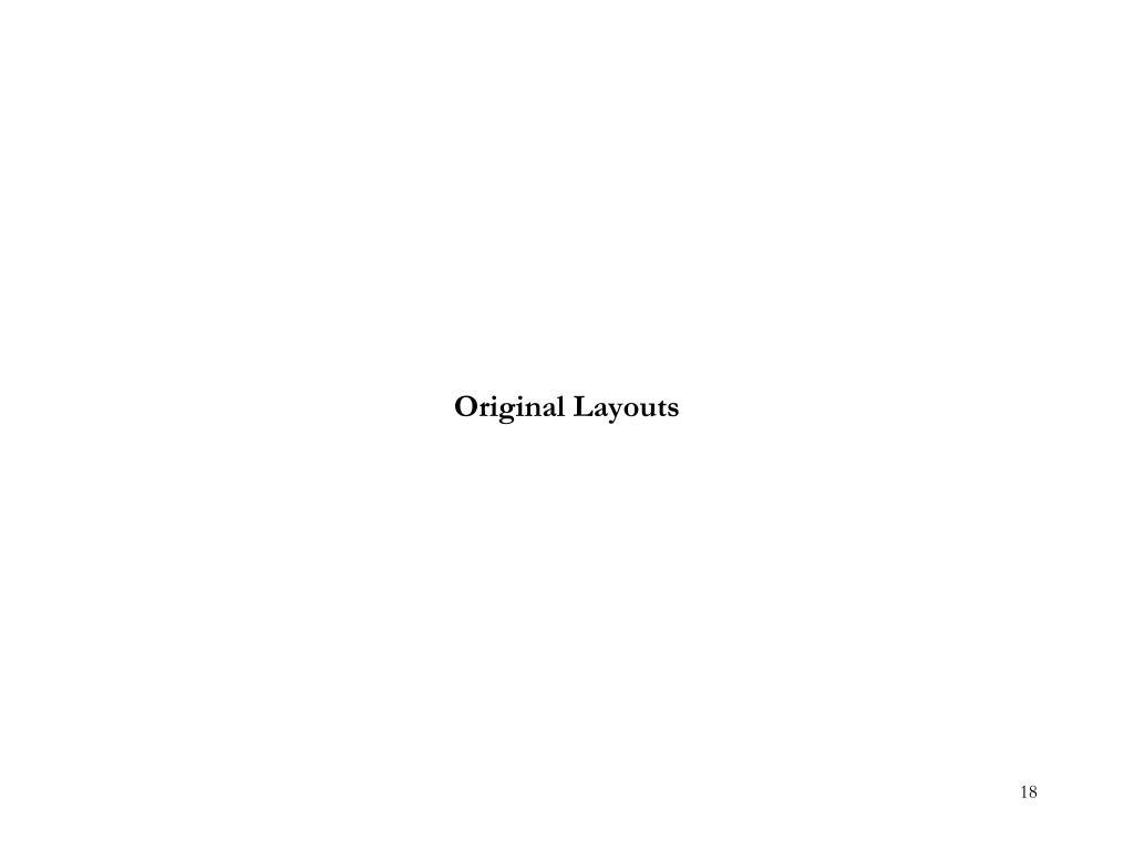 Original Layouts