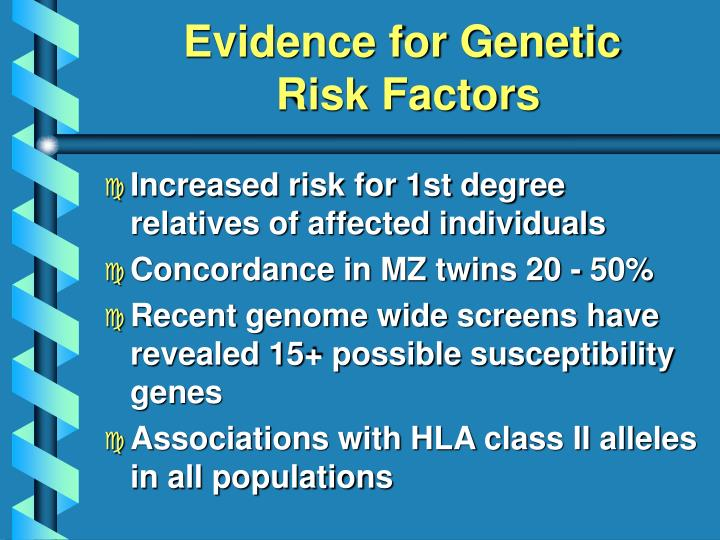 Evidence for Genetic