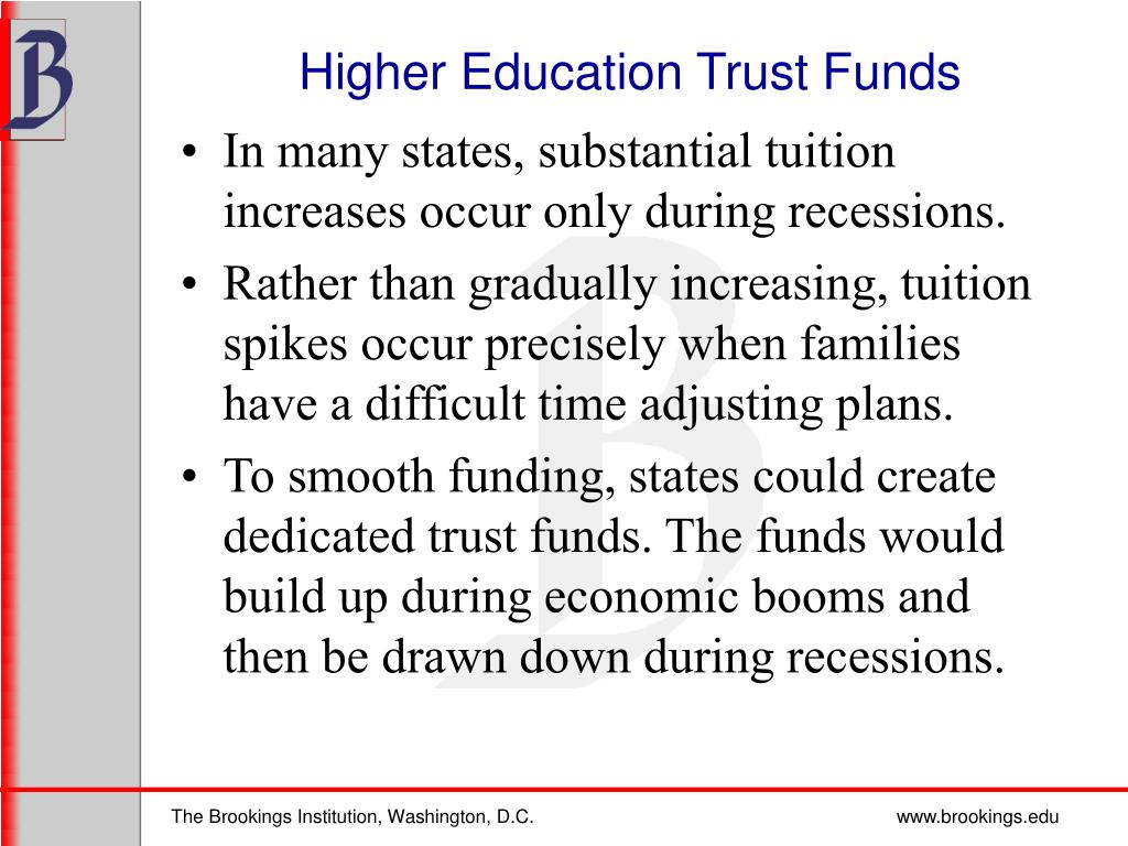 Higher Education Trust Funds