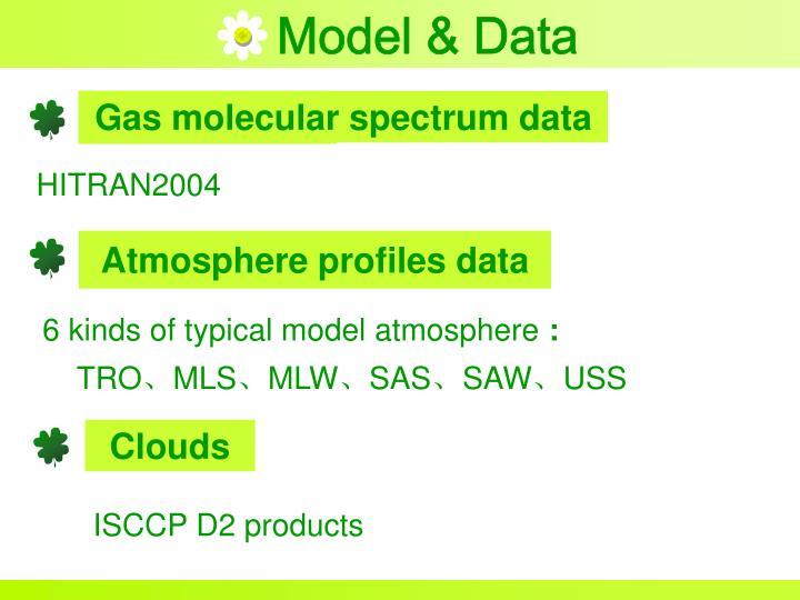 Model & Data