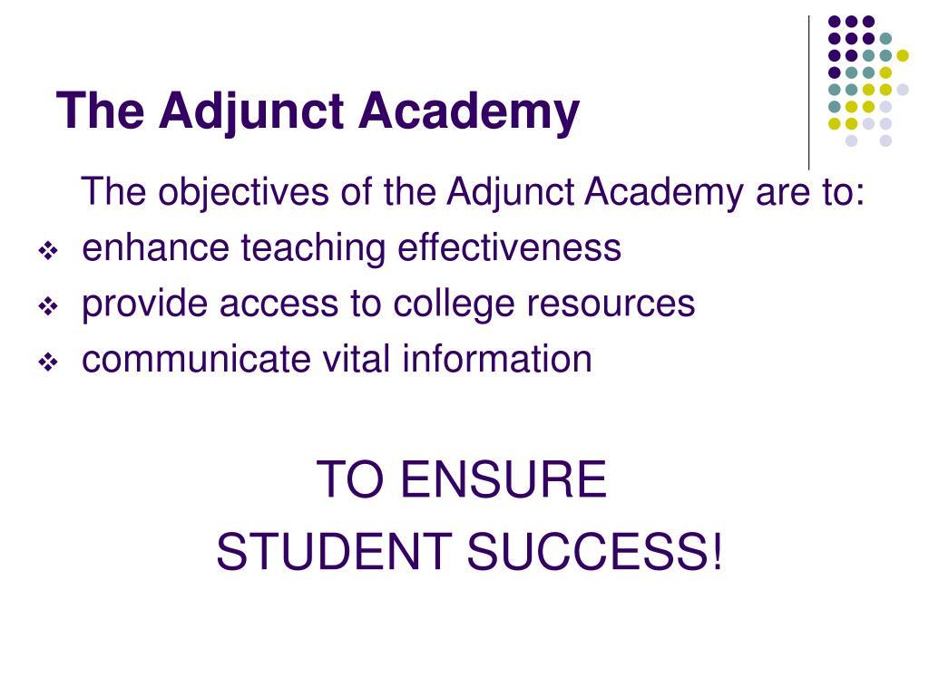 The Adjunct Academy