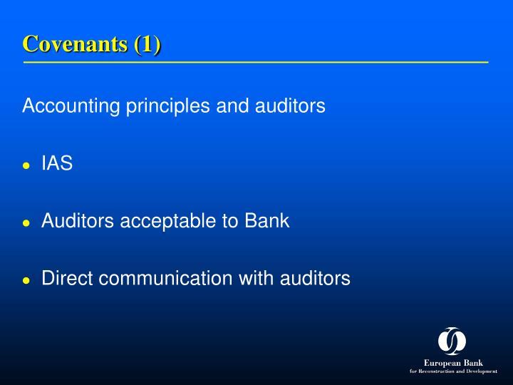 Covenants (1)