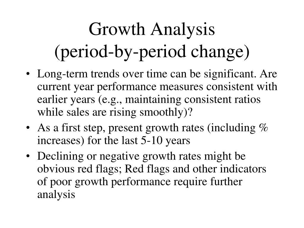 Growth Analysis