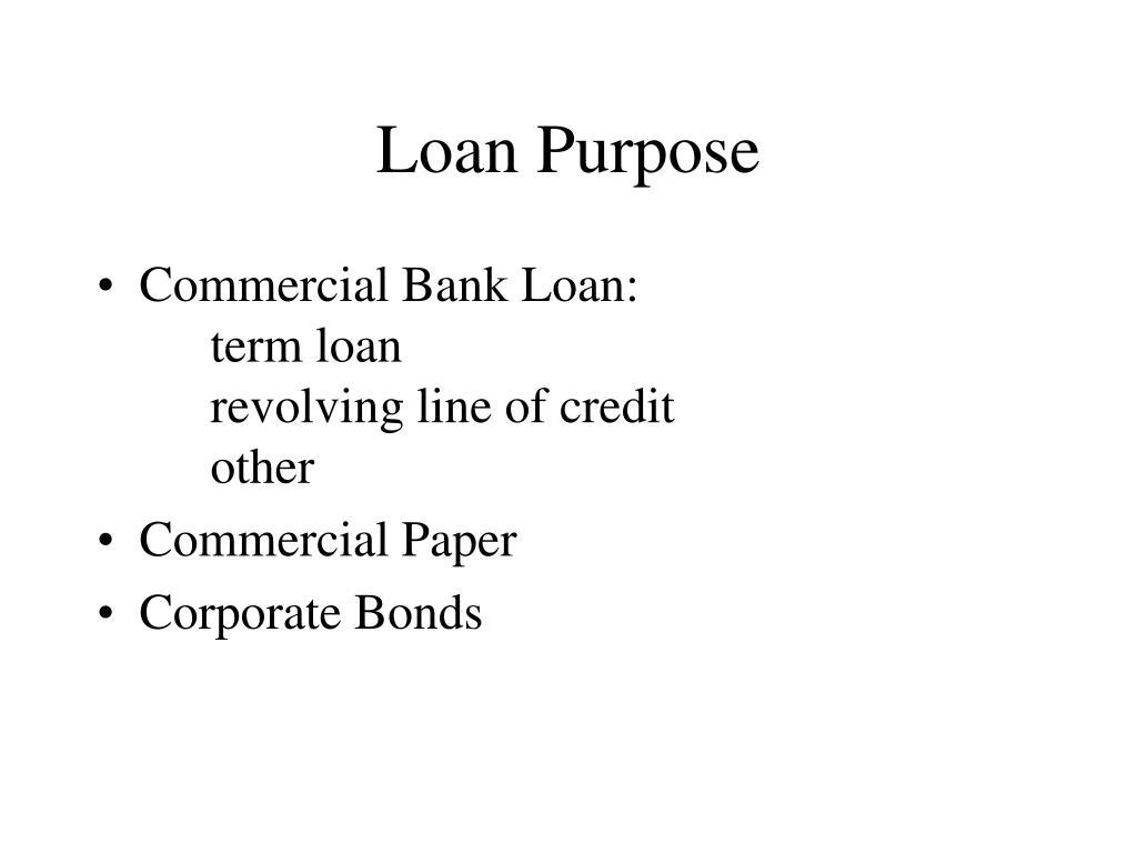 Loan Purpose