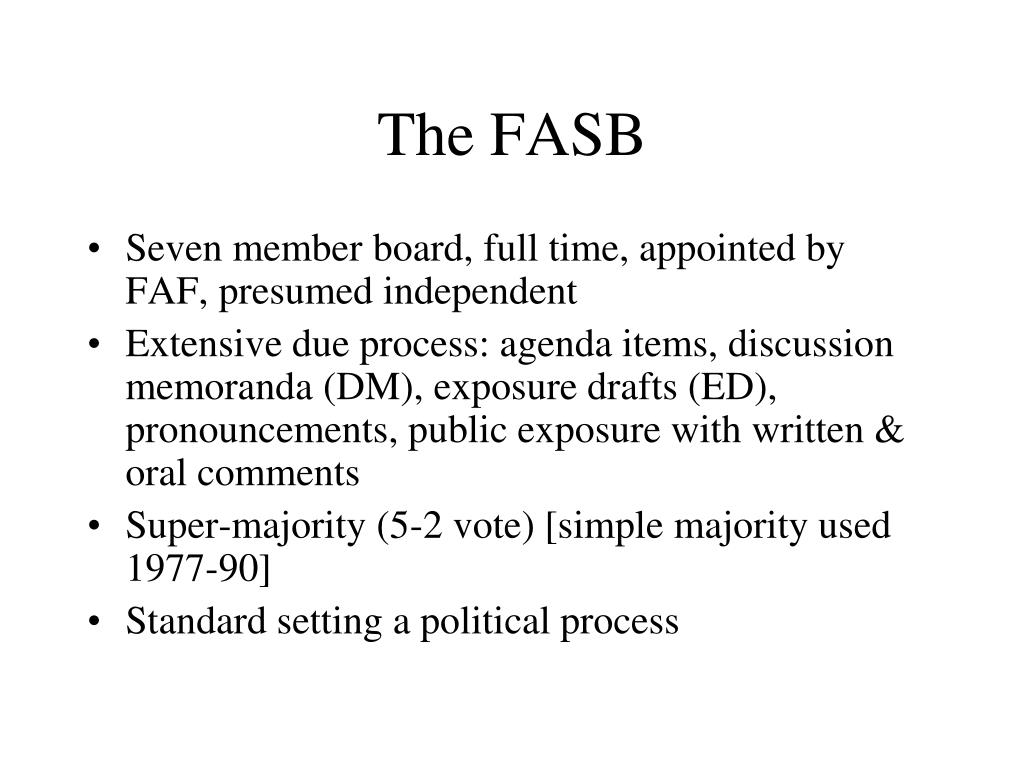 The FASB