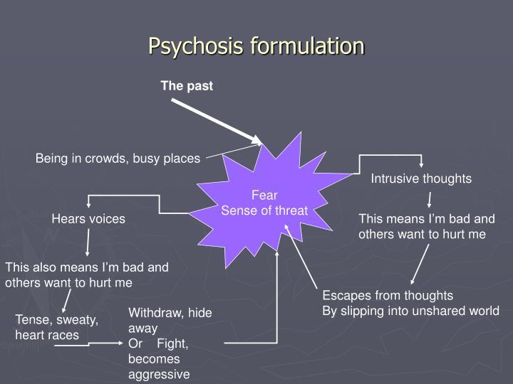 Psychosis formulation