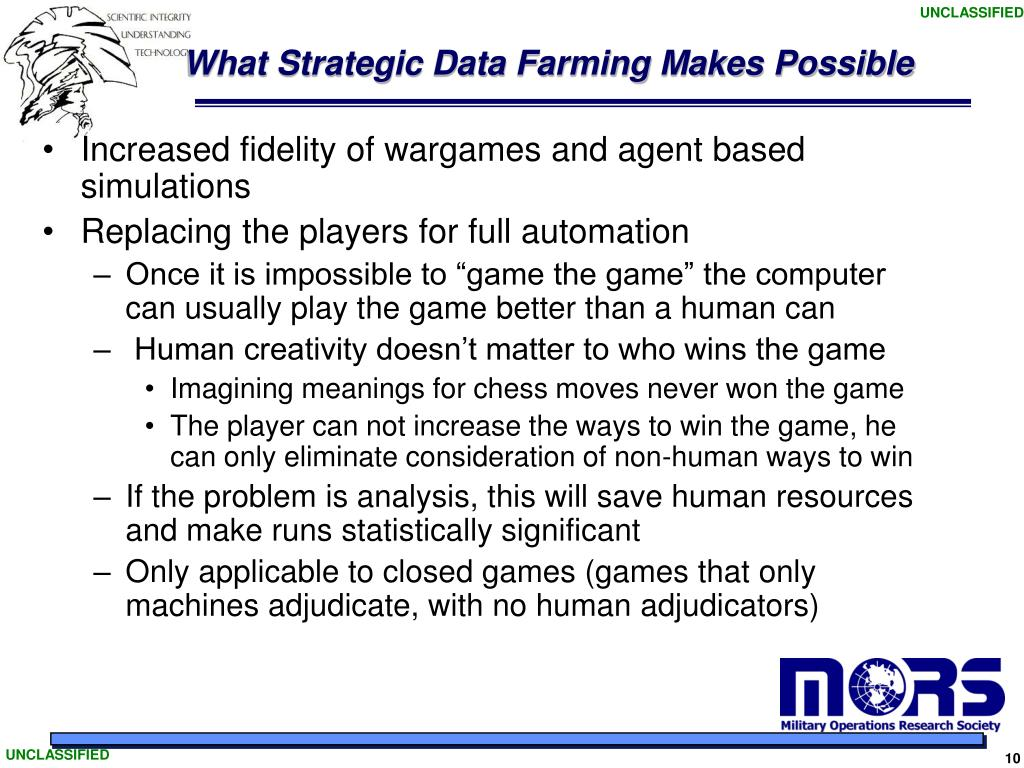 What Strategic Data Farming Makes Possible